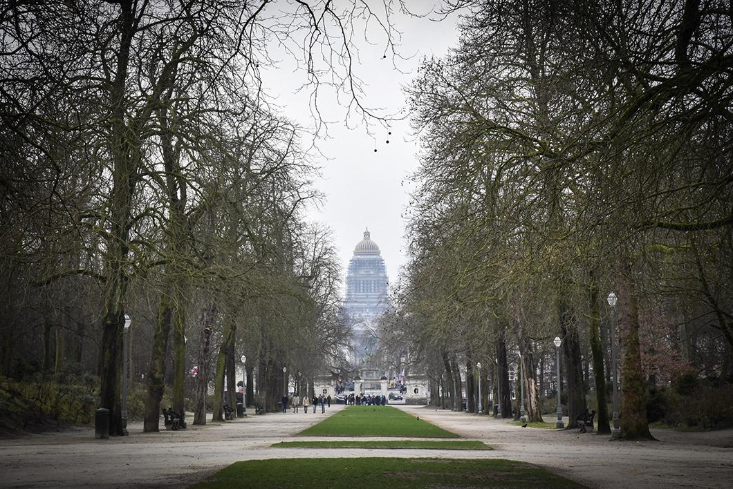 Un week end à Bruxelles - parc du Cinquantenaire