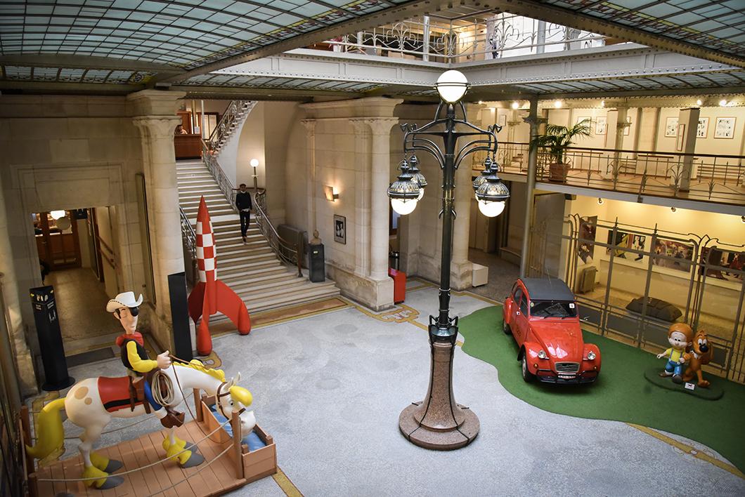 Visiter le Centre Belge de la Bande Dessinée à Bruxelles