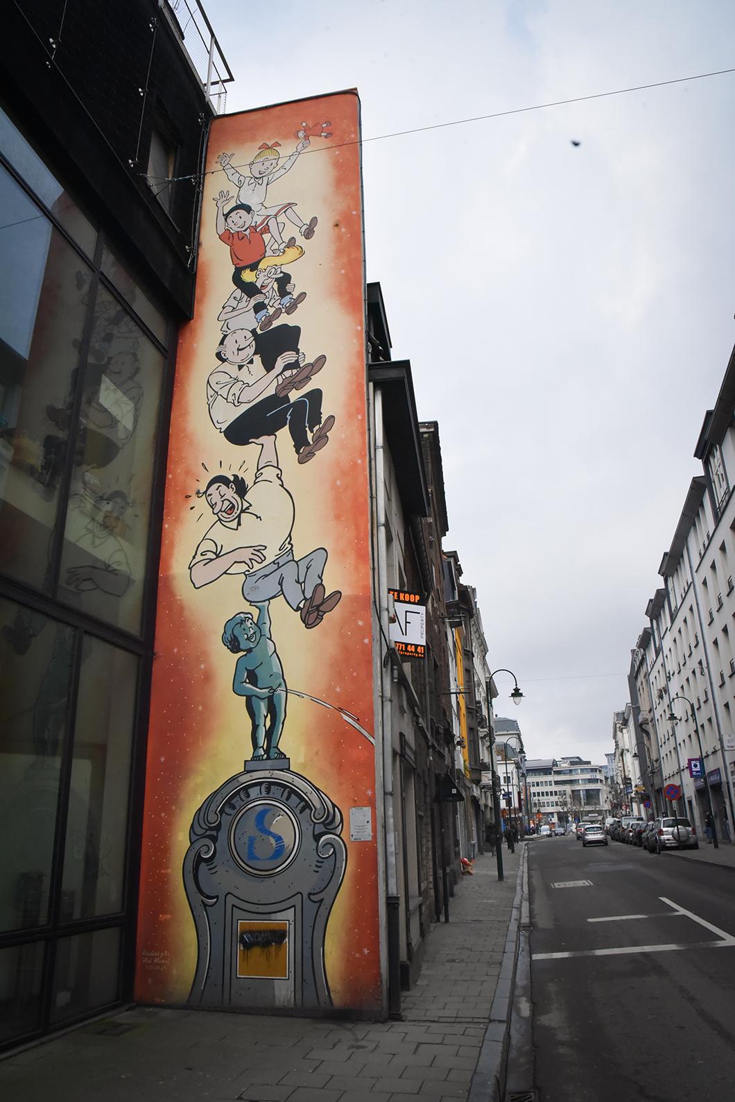 Que faire à Bruxelles ? parcours BD