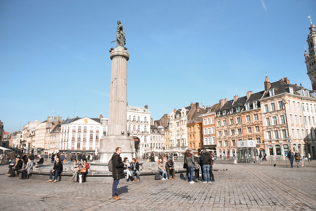 La Grand Place - Un week end à Lille