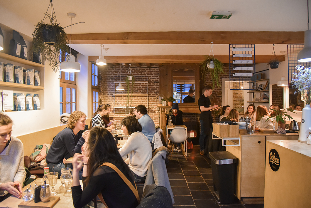 Caféine, café à Lille
