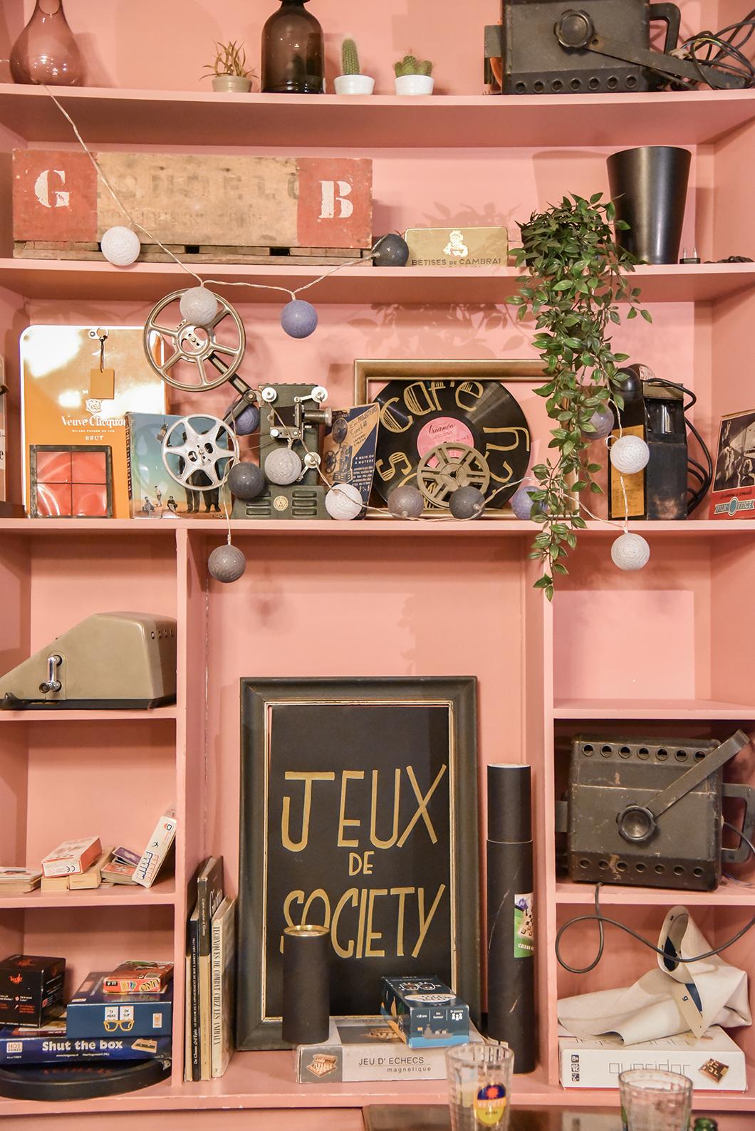 Café Society - Bar à jeu de société à Lille