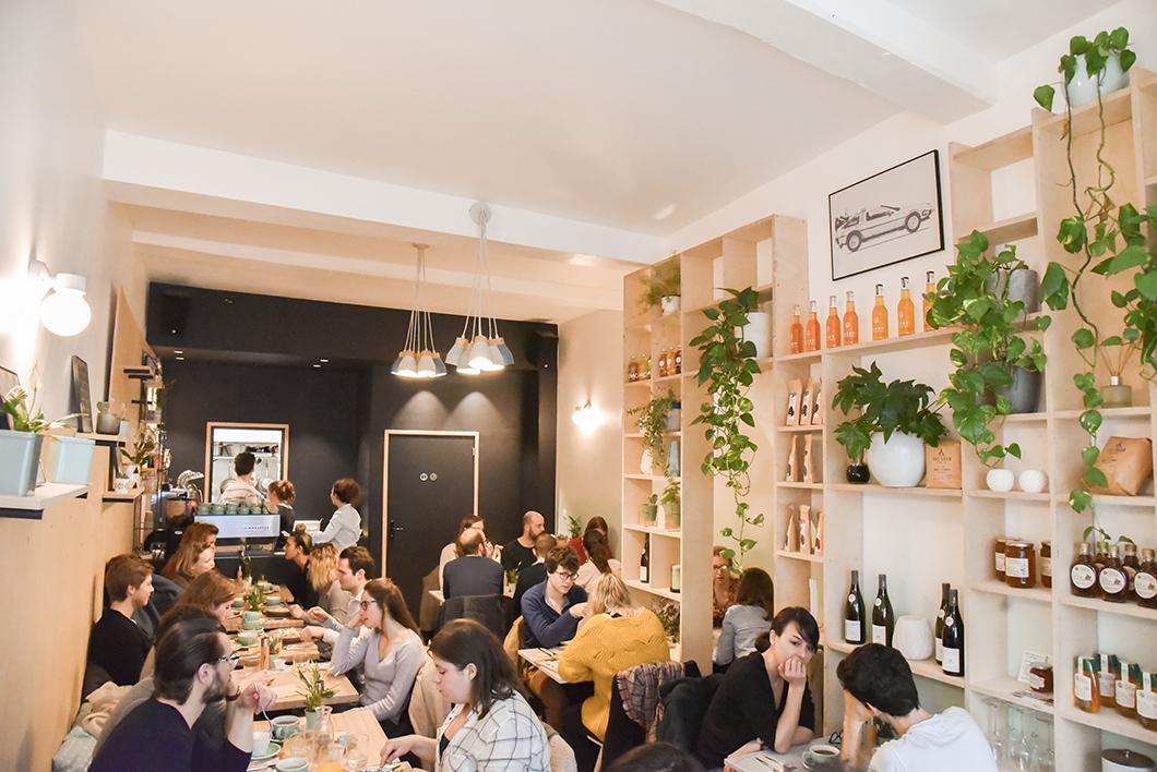Tamper! Expresso Bar, restaurant à Lille