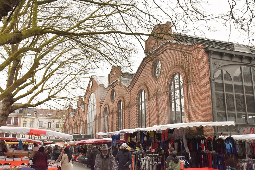 Un week end à Lille - Faire le marché deWazemmes