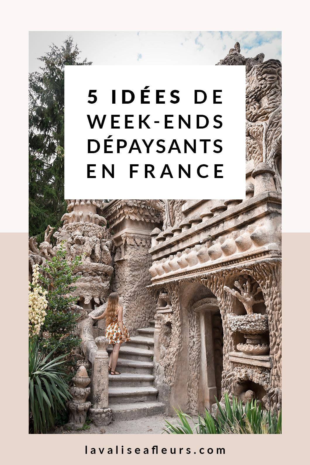 5 idées de week ends dépaysants en France