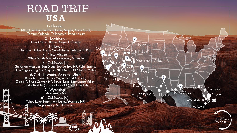 3 mois de road trip aux USA