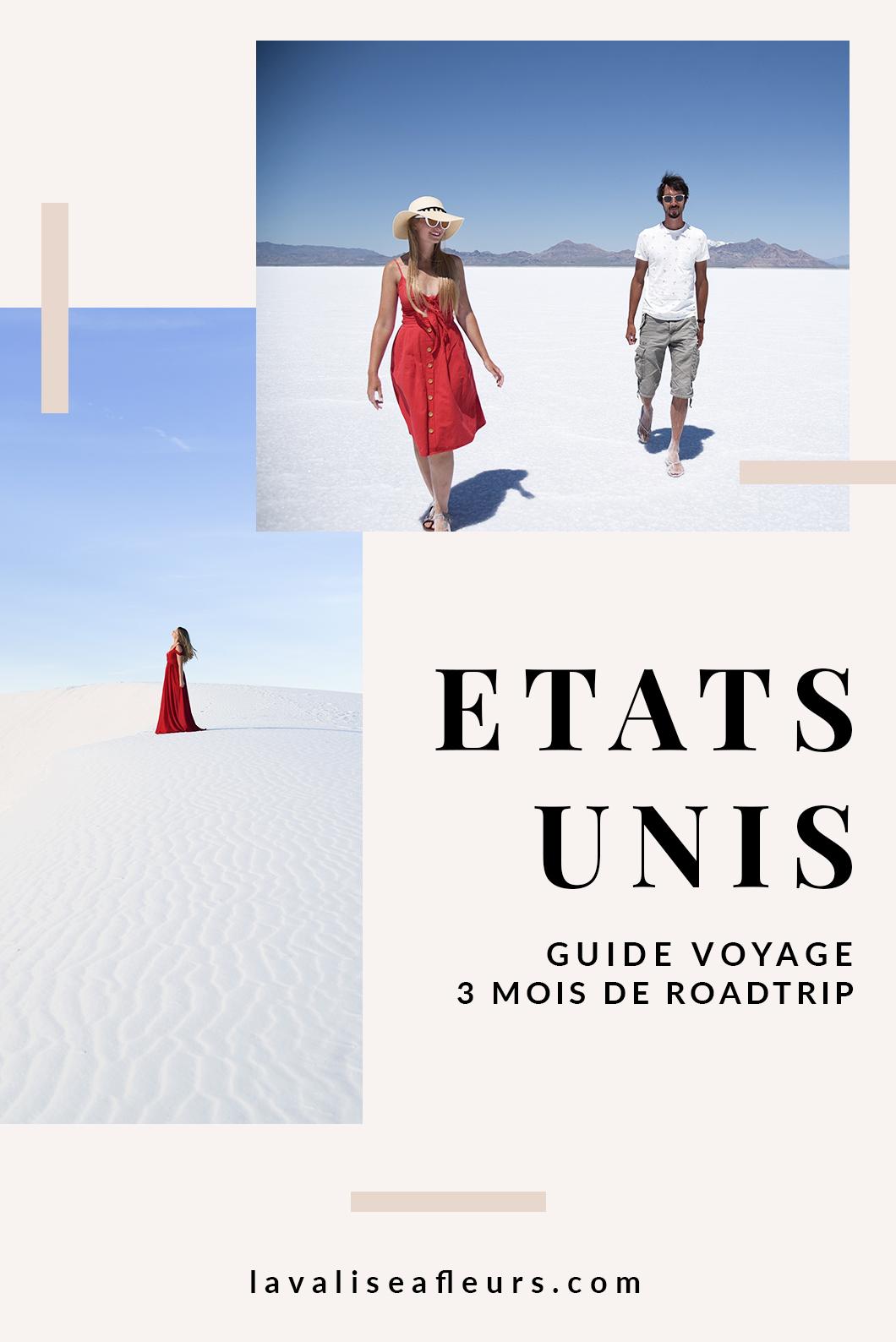 itineraire de 3 mois aux usa