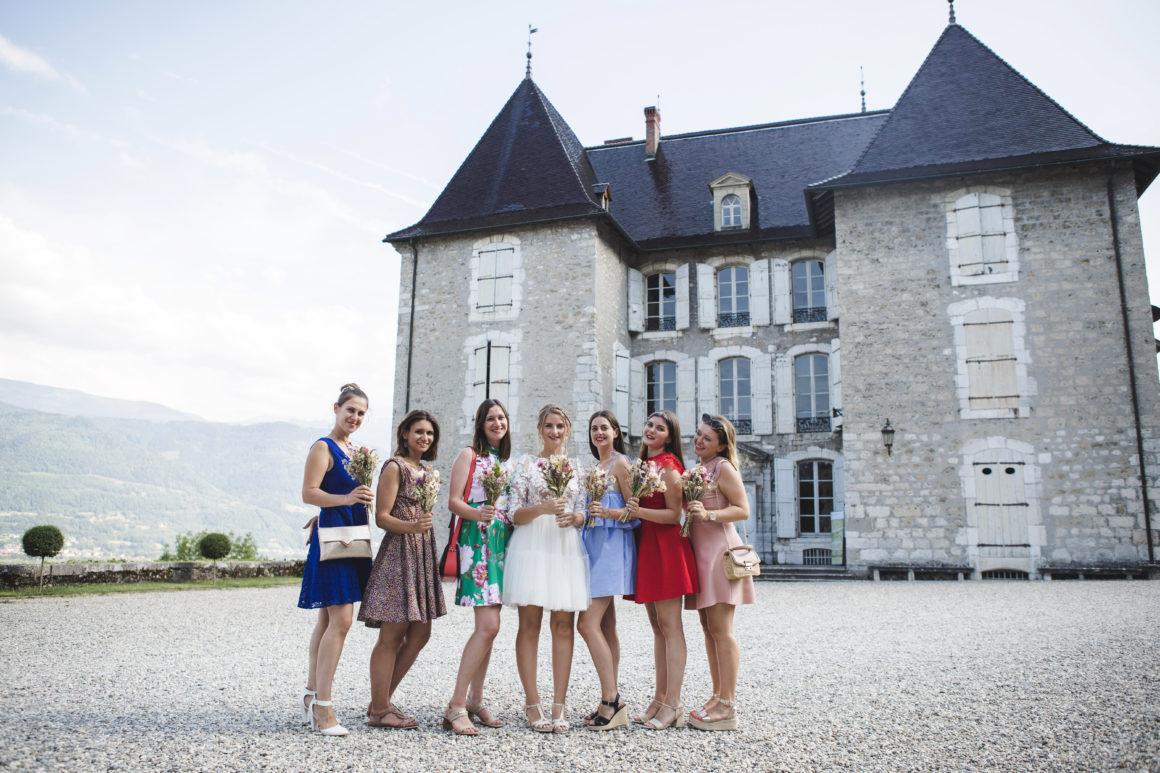 La team bride au Château du Touvet