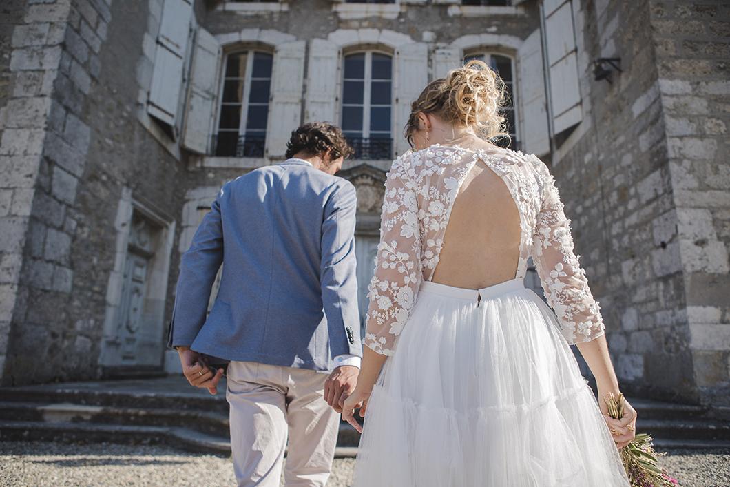 Séance photo mariés au Château du Touvet