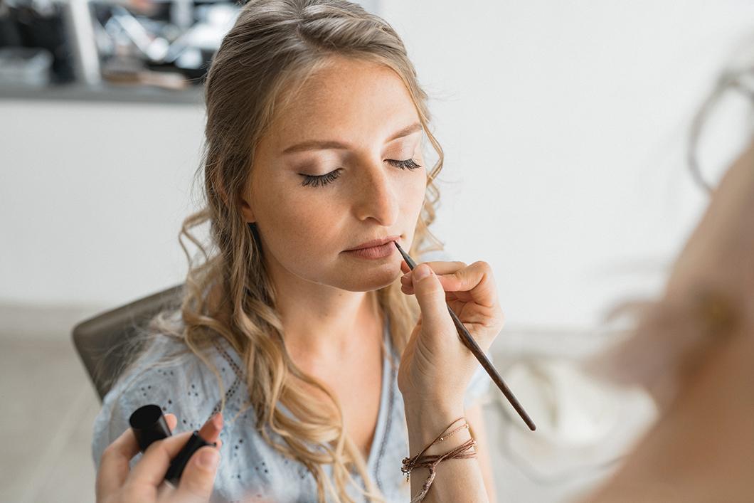 Maquillage de la mariée par Emilie Gerbaud