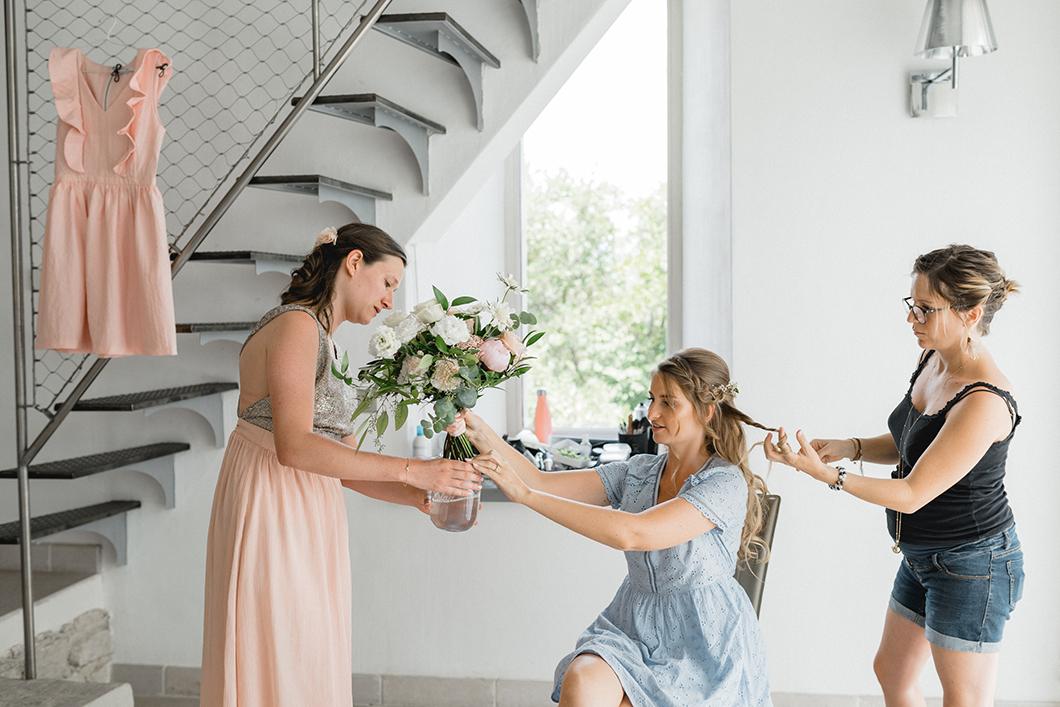 Le bouquet de la mariée par Lilas Wood