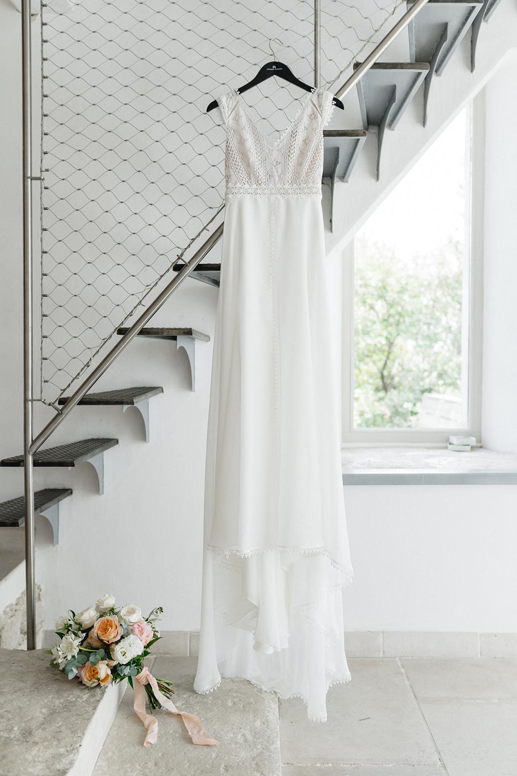 Robe de mariée Fabienne Alagama