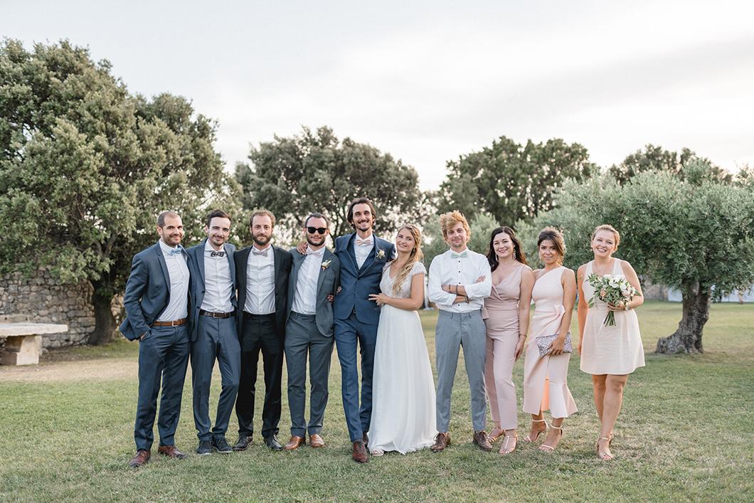 Amis des mariés