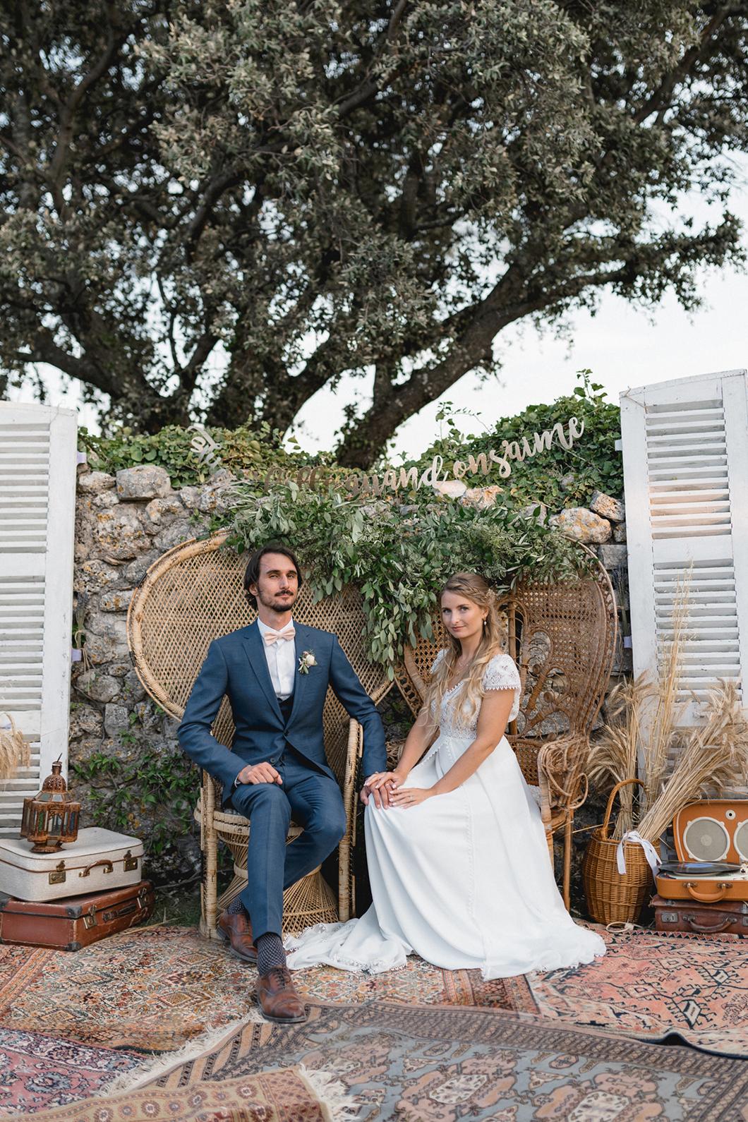 Photobooth de mariage par Velvet rendez-vous
