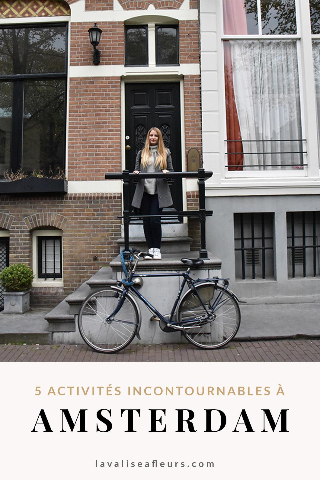 5 activités incontournables à Amsterdam