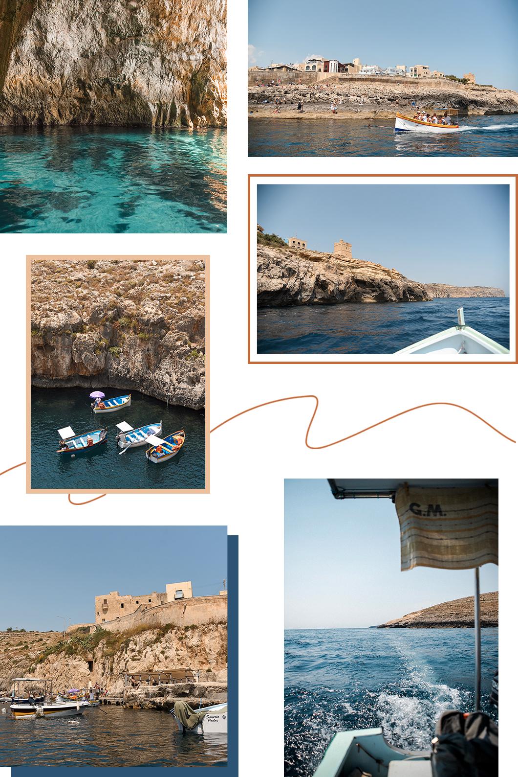 Découvrir la Blue Grotto en bateau