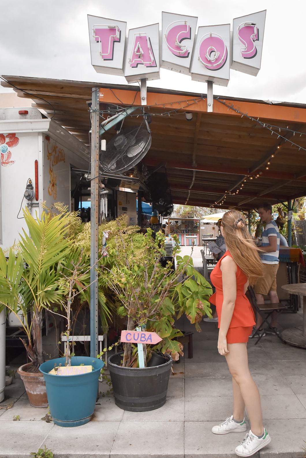 Caja Caliente, Cuban tacos Miami