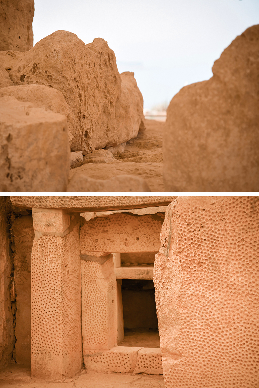 Visiter les temples d'Hagar Qim et Minajora