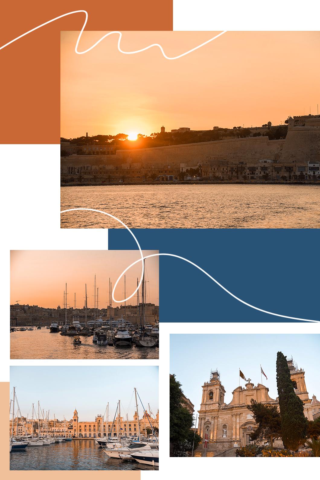 Aller aux Trois Cités en bateau à Malte