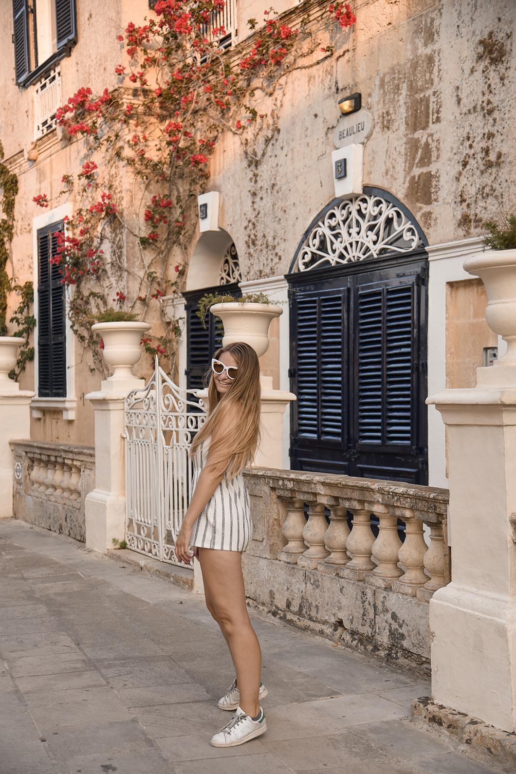 Balade à Mdina à Malte