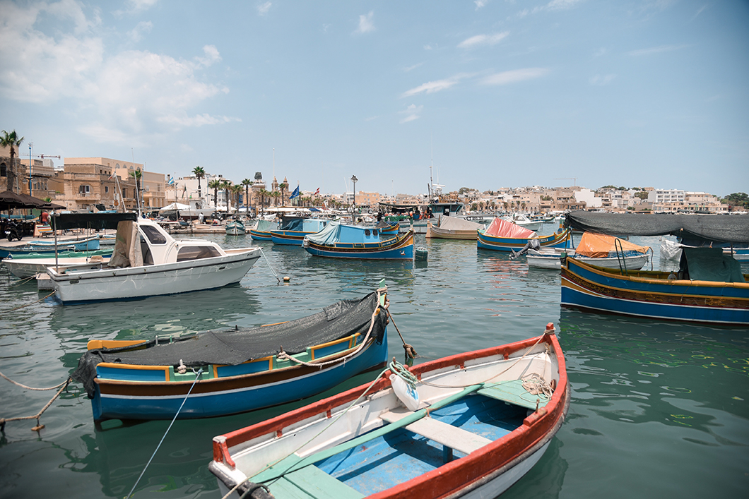 Le Port coloré de Marsaxlokk