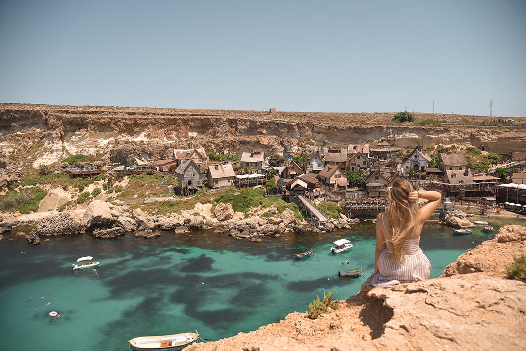 Popeye Village à Malte