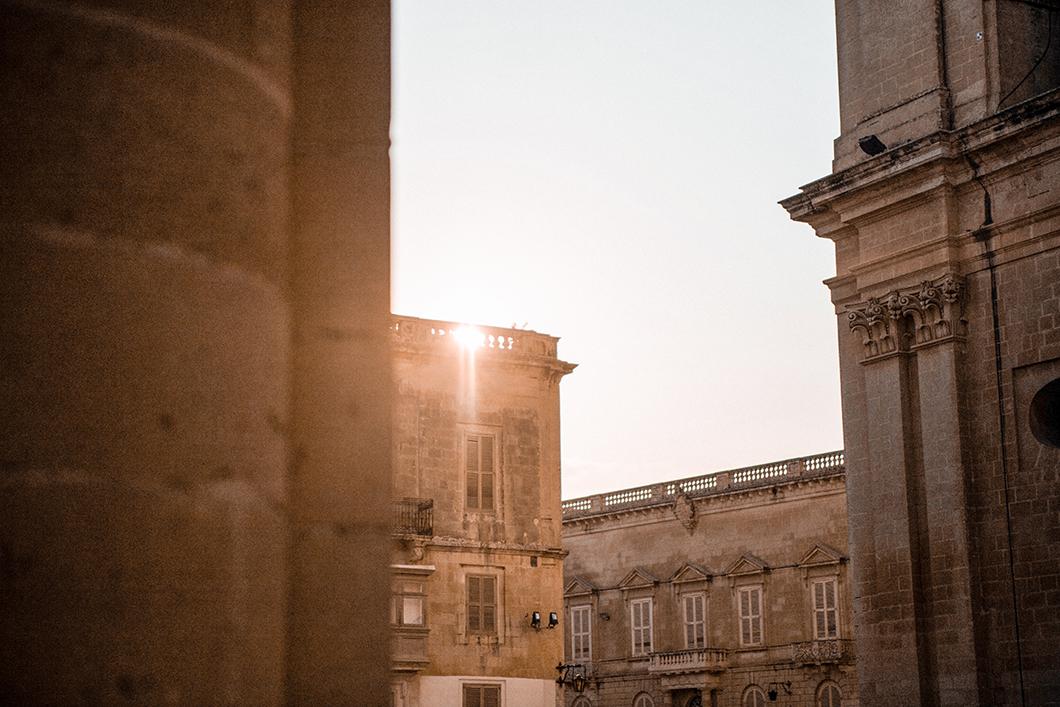 La ville de Mdina à Malte