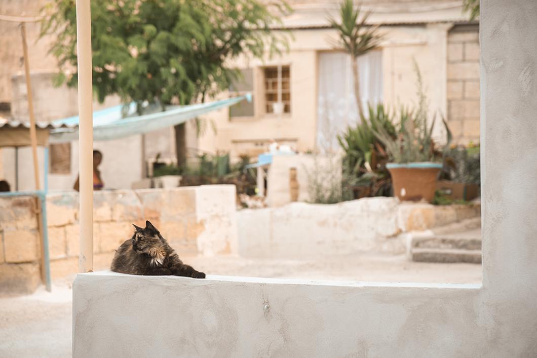 Les rues de La Valette à Malte