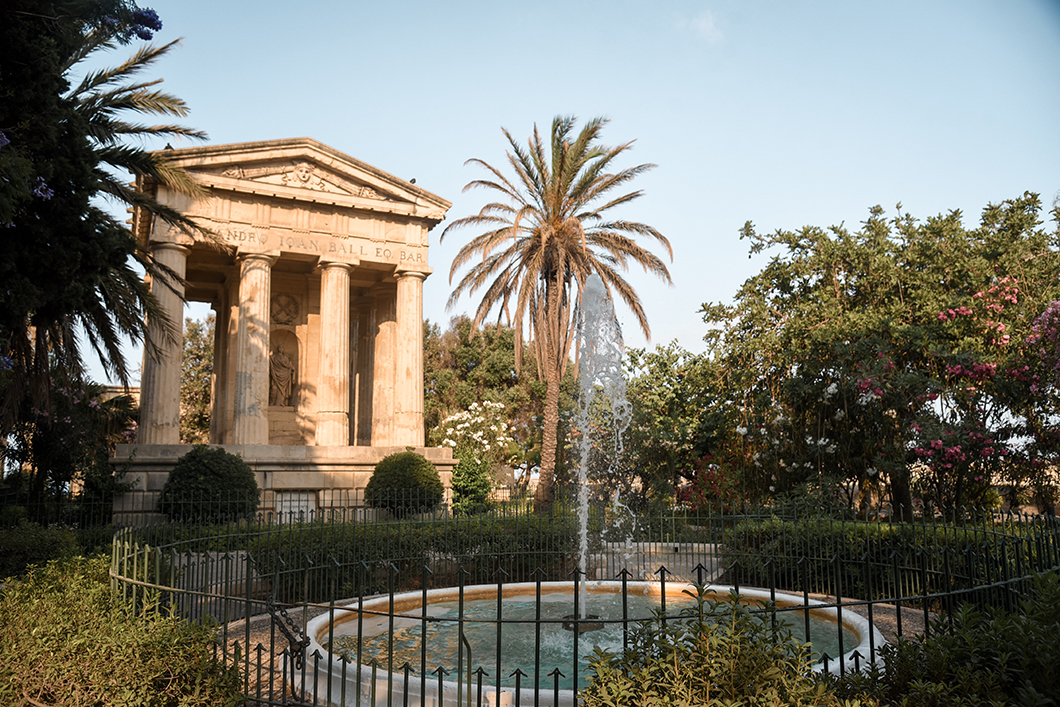 Lower Barrakka Gardens - Visites incontournables à Malte