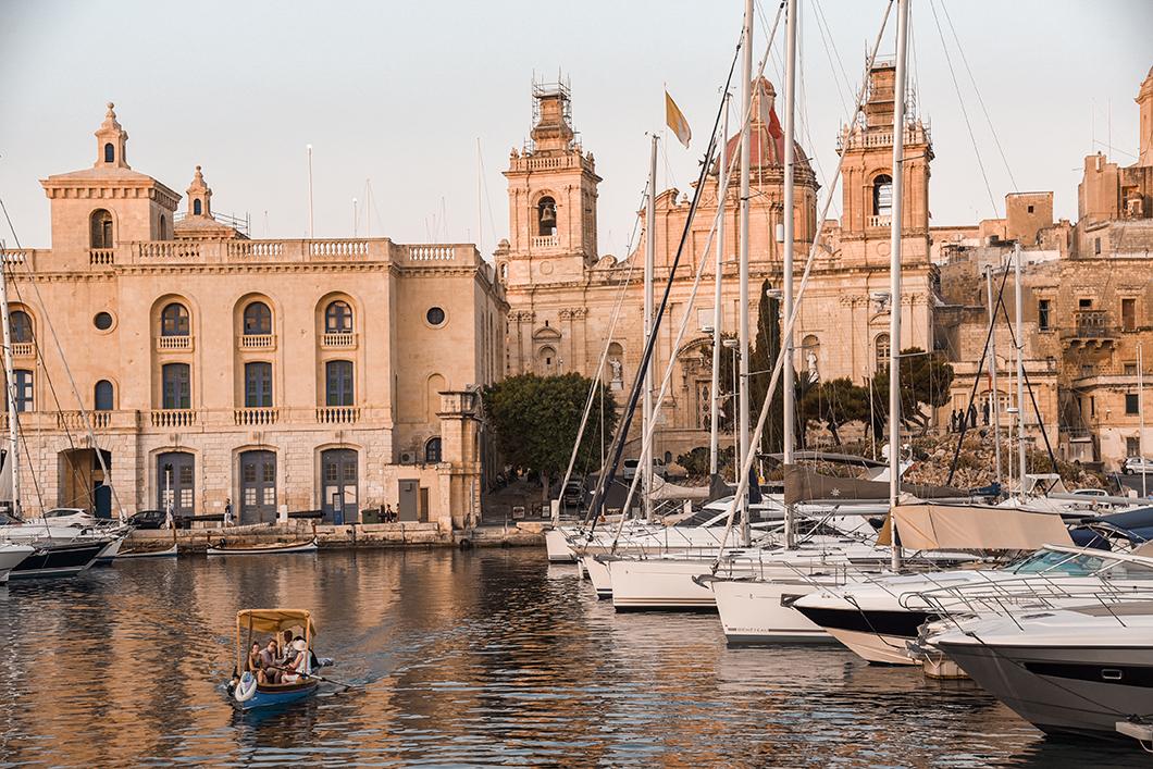 Malte et les Trois Cités en bateau
