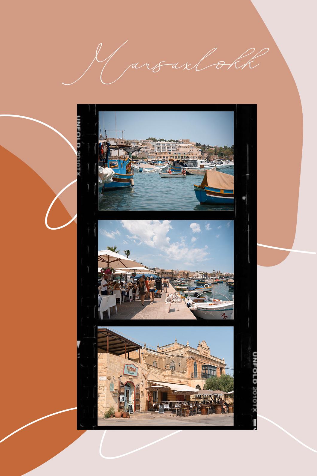 Marsaxlokk et son joli port