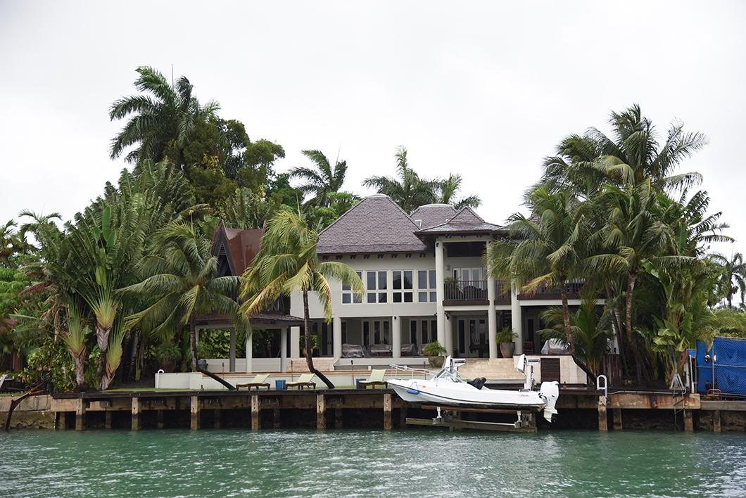 Biscayne Bay et les maisons de luxe