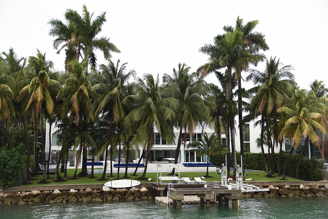 Les belle maisons de Biscayne Bay