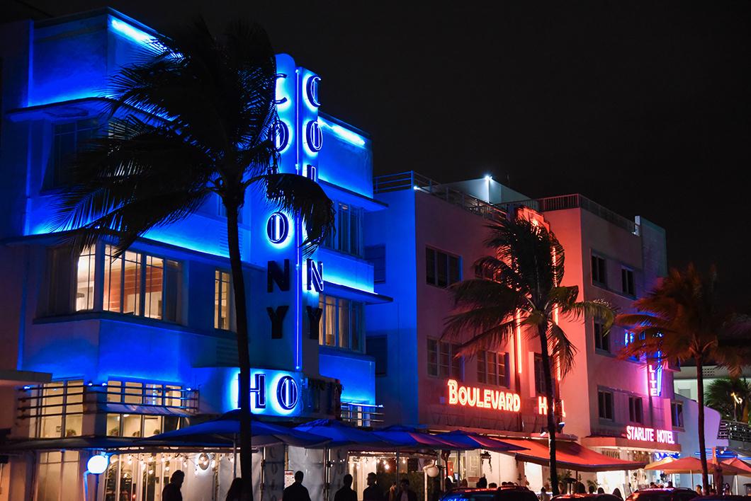 Les néons de Miami