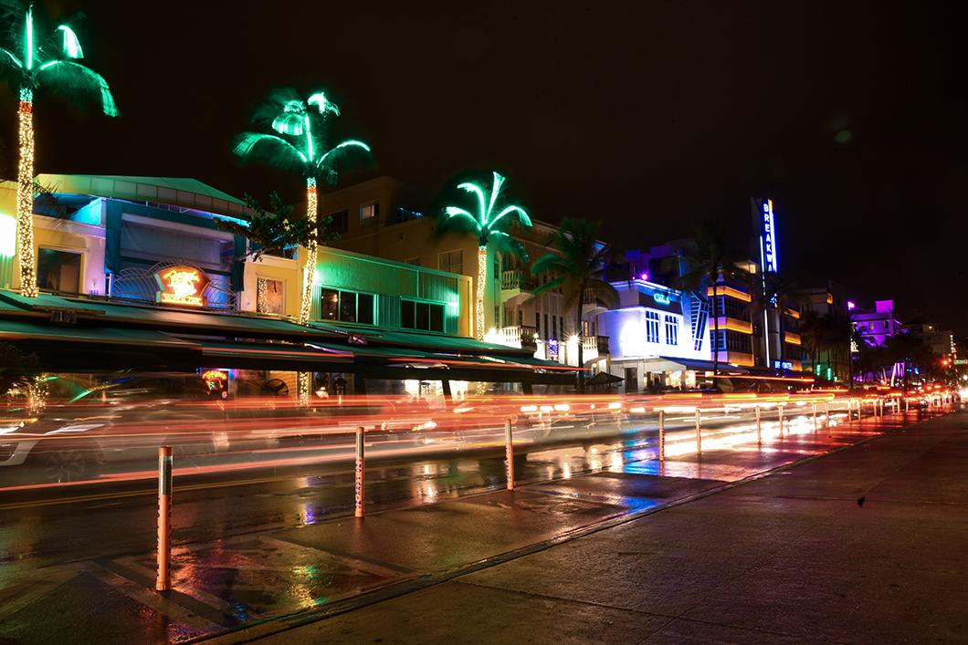 Ocean Drive à South Beach