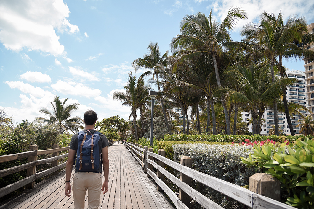 Boardwalk de Miami Beach