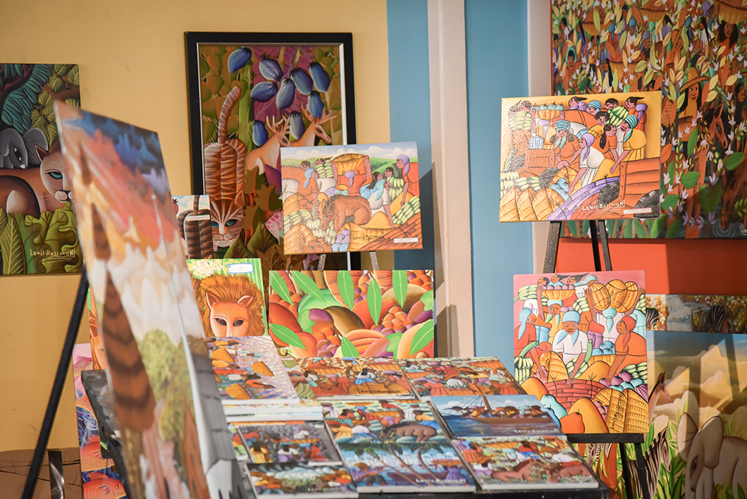 Peintures du Carribean marketplace de Little Haiti