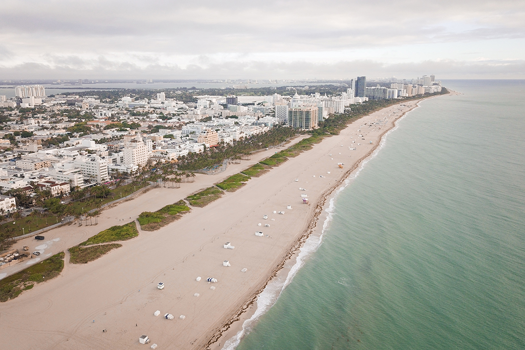 Miami Beach du ciel