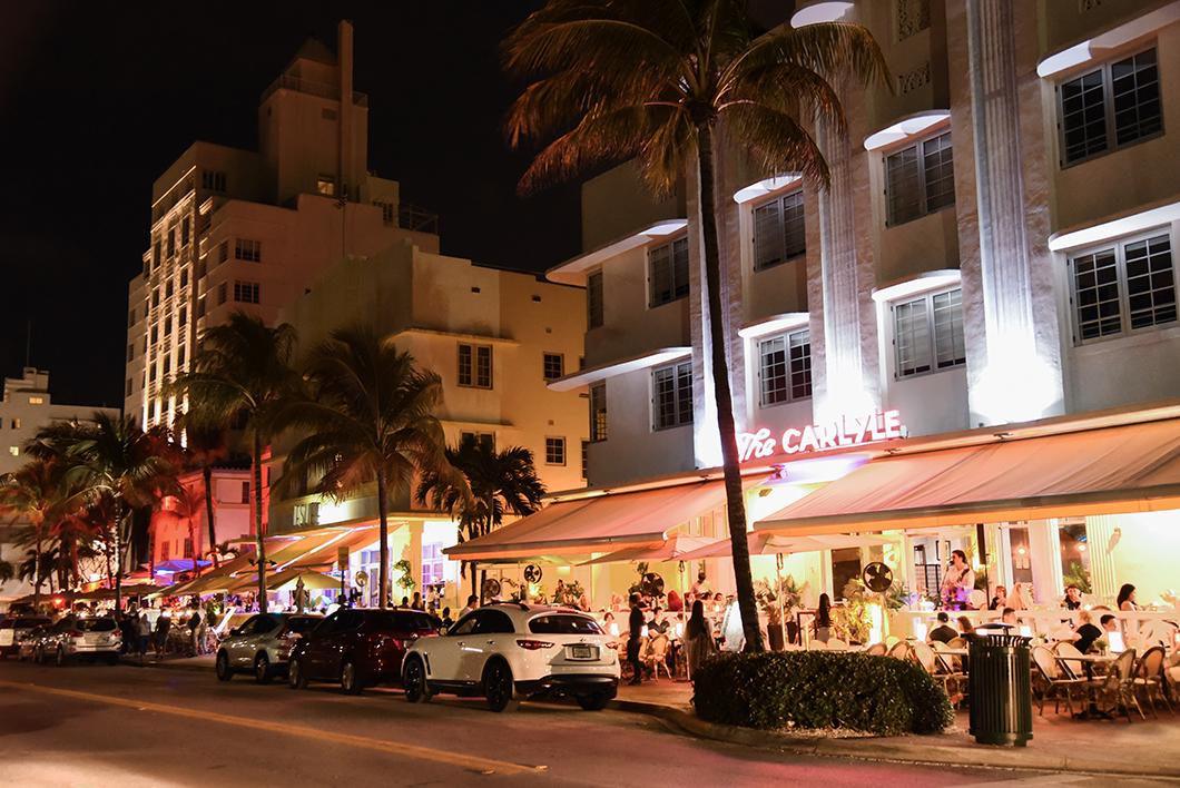 Ocean Drive à Miami Beach