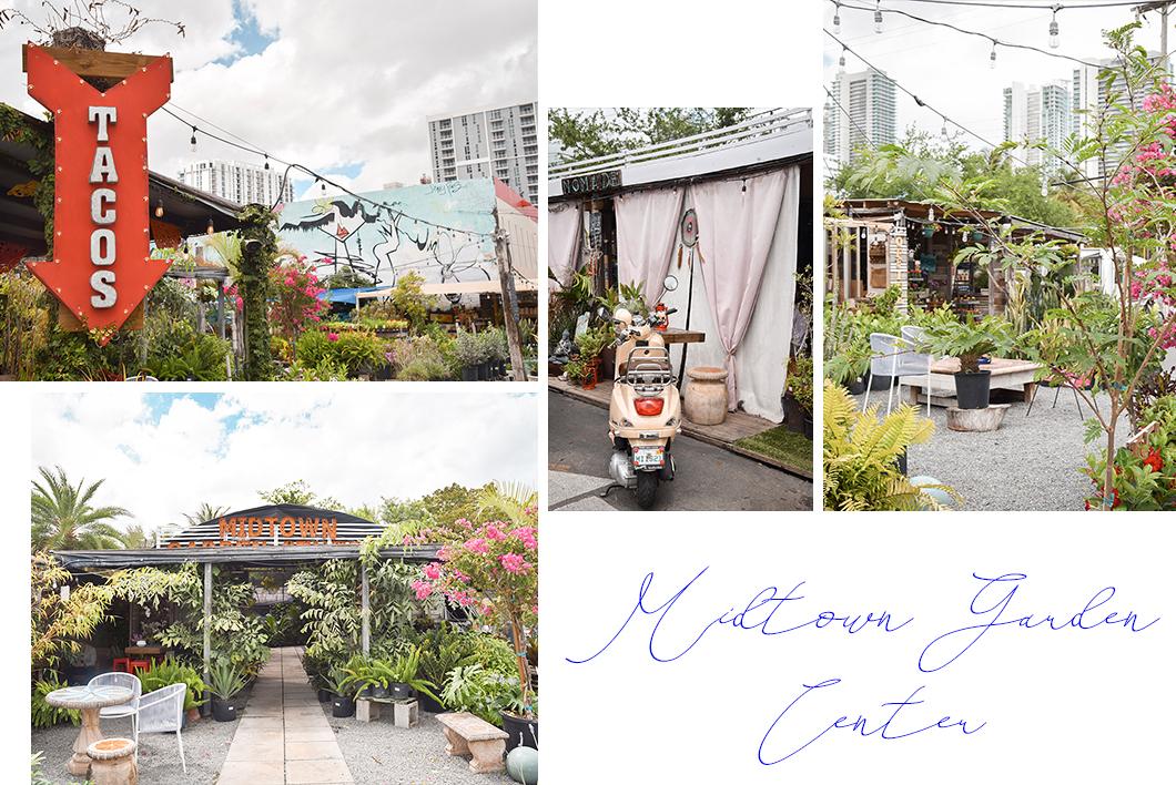 Midtown Garden Center, street food Miami