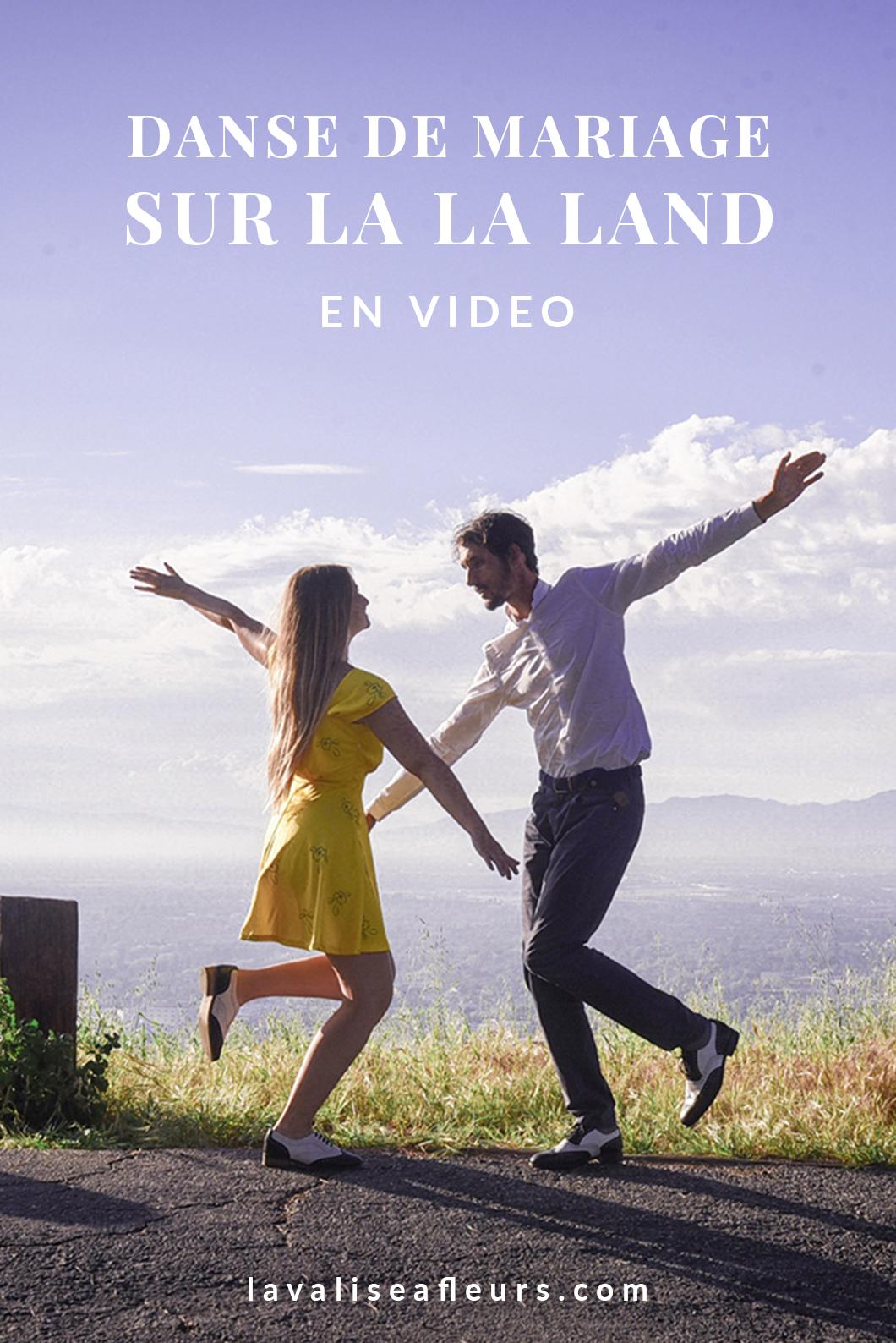 Video de notre danse de mariage sur La La Land