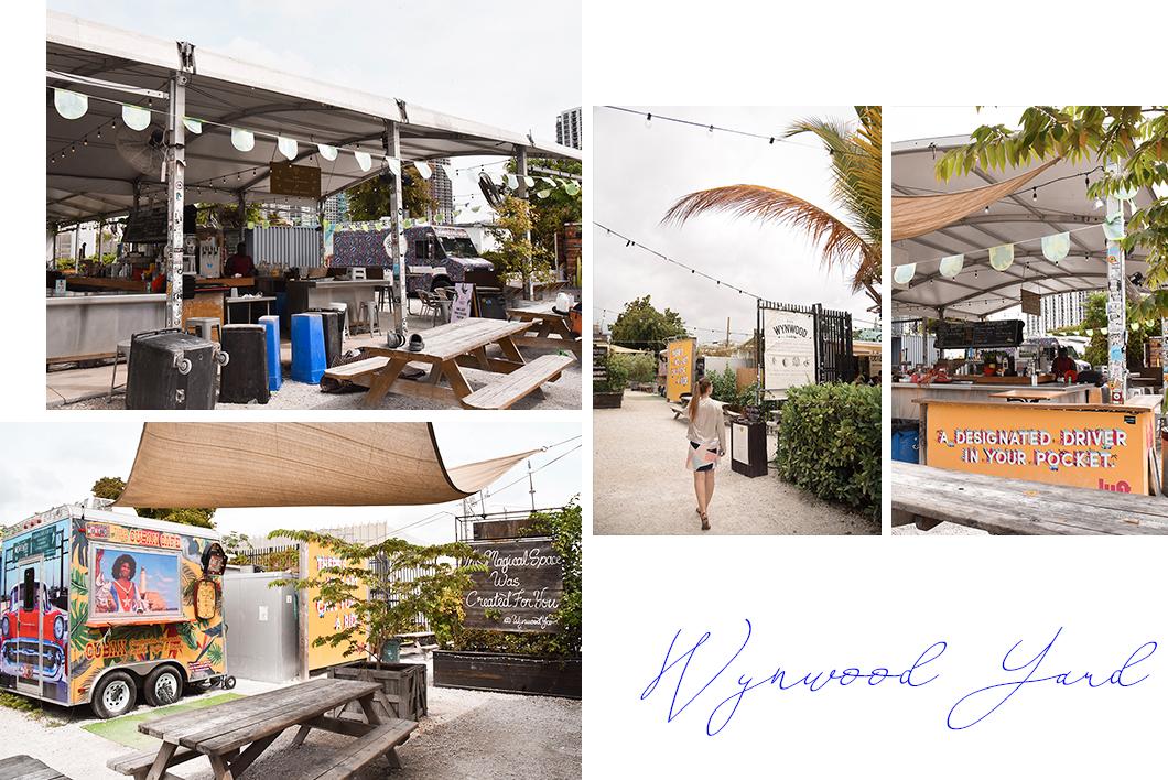 Wynwood Yard, street food Miami