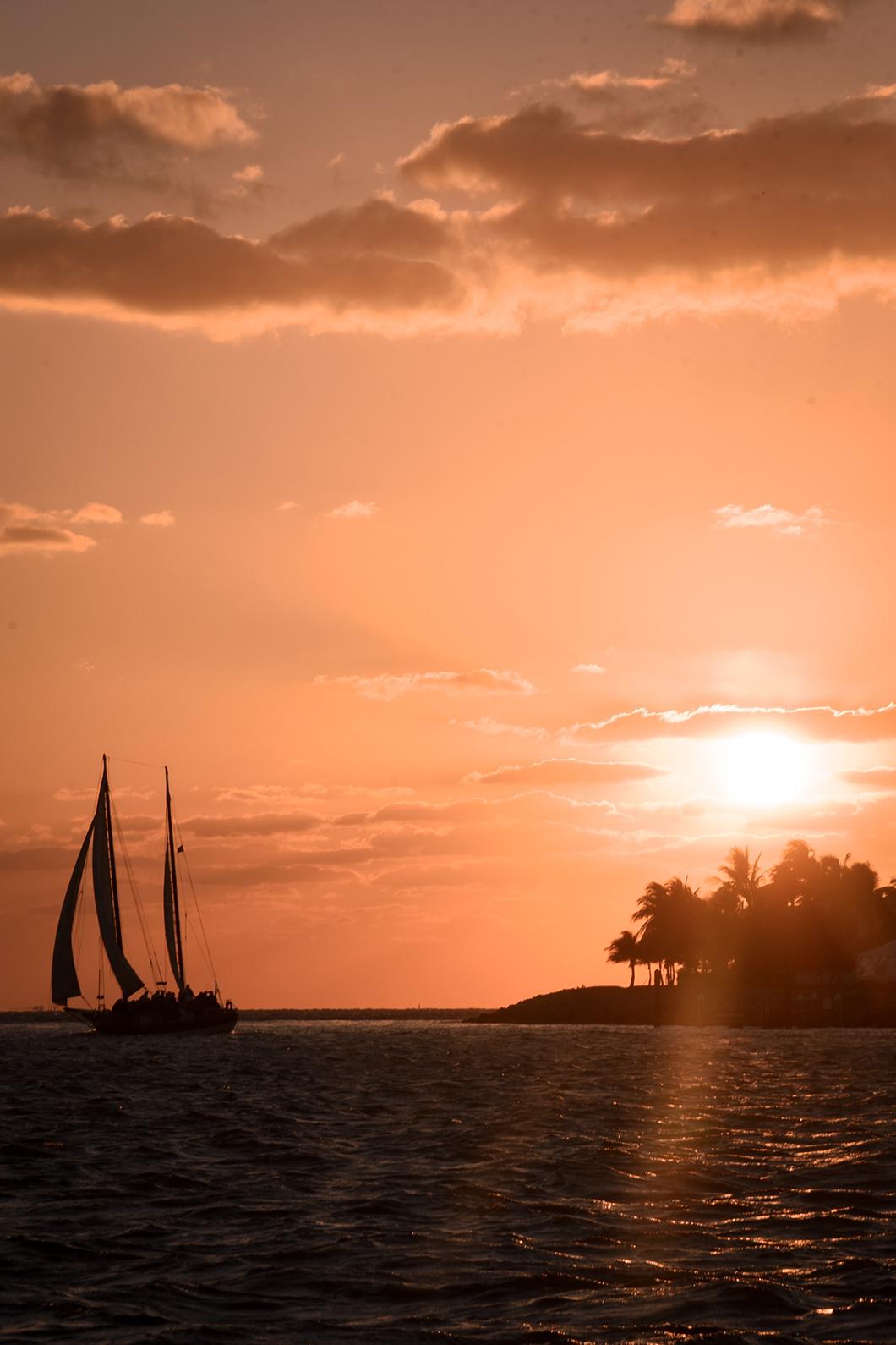 Meilleur spot pour le coucher de soleil à Key West