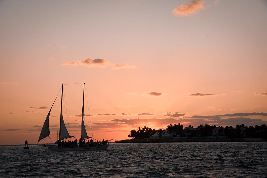 Où admirer le coucher de soleil dans les Keys ? Le Sunset Pier à Key West