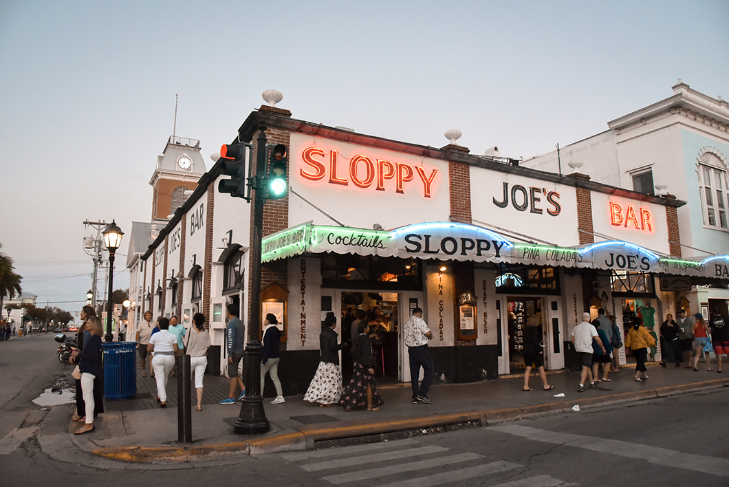 Sortir à Key West - Sloppy Joe's Bar, bar mythique dans les Keys
