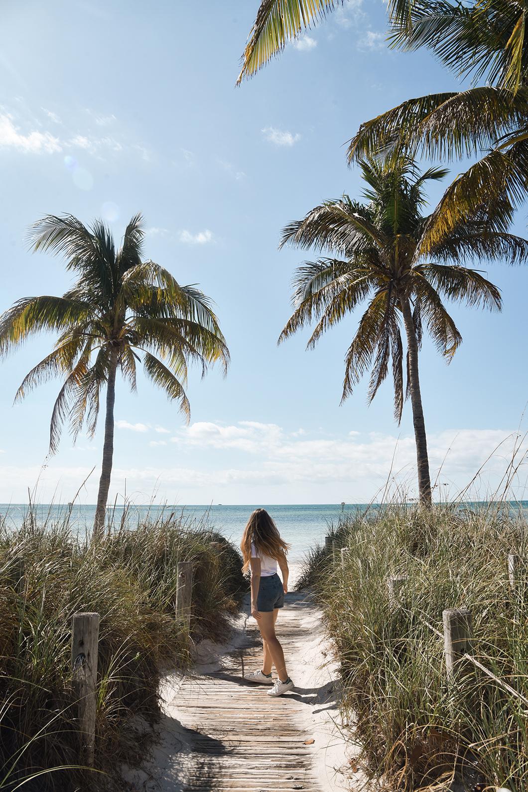 Smathers Beach, plages dans les Keys