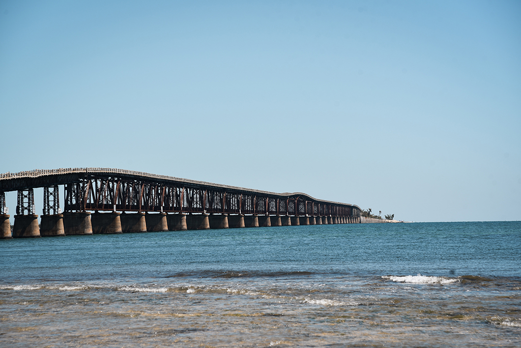7 miles Bridge, plus grand pont dans les Keys