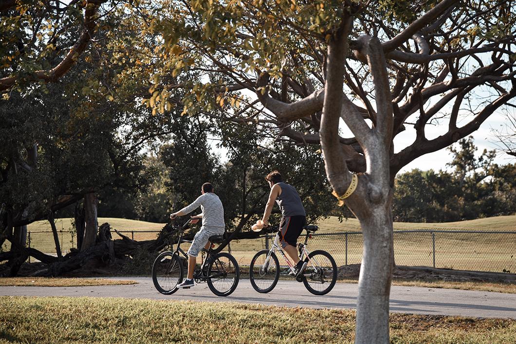 Faire du vélo dans les Keys