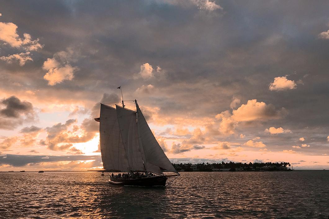 Regarder le coucher de soleil à Key West depuis le Sunset Pier