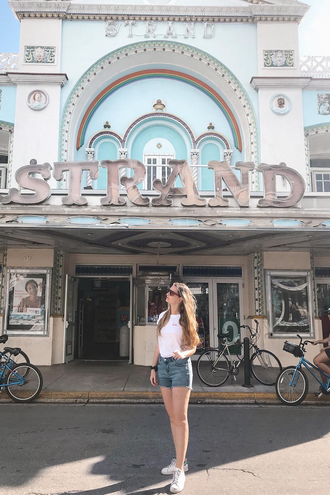 Strand à Key West